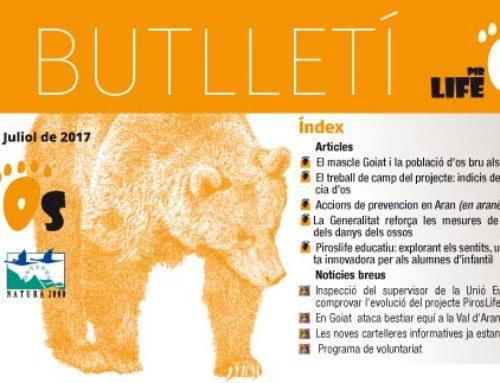 Segon número del Butlletí del Projecte PirosLife