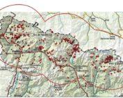 Zona amb presència permanent d'os bru a Catalunya