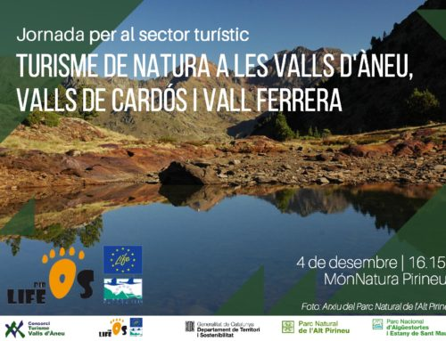 Workshop for the tourism sector. Nature tourism in Valls d'Àneu, Valls de Cardós and Vall Ferrera. December 4